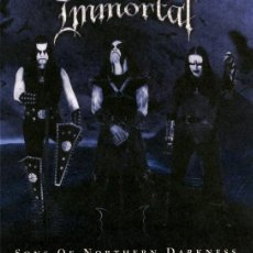 CDs de Música: IMMORTAL - SONS OF NORTHERN DARKNESS (DIGIPACK. GERMANY, 2002). Lote 198861143