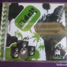 CDs de Música: FIDEL CD BOOMERANG 2008 PRECINTADO - EMOCIONADO! - REGGAE POP - TODOS TUS MUERTOS - MANO NEGRA. Lote 198879422