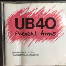 CDs de Música: UB40 - PRESENT ARMS (CD, ALBUM) (DEP INTERNATIONAL) DEP CD1 (D:NM). Lote 198882552