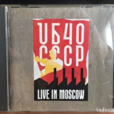 CDs de Música: UB40 - CCCP - LIVE IN MOSCOW (CD, ALBUM) (DEP INTERNATIONAL)DEP CD 12 (D:NM). Lote 198882643