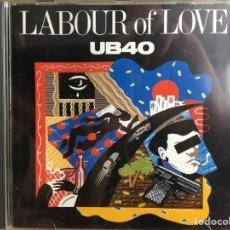 CDs de Música: UB40 - LABOUR OF LOVE (CD, ALBUM) (VIRGIN, DEP INTERNATIONAL) DEP CD5 (D:NM). Lote 198882658