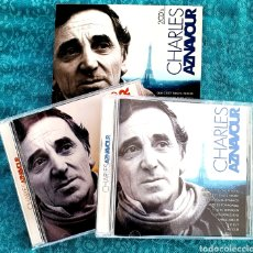 CDs de Música: CHARLES AZNAVOUR. 2 CD. 24 CANCIONES.OK RECORDS.2007. Lote 198901853