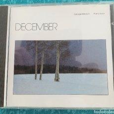 CDs de Música: DECEMBER. GEORGE WINSTON. PIANO SOLOS. 1982. Lote 198905376