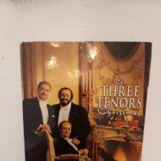 CDs de Música: THE THREE TENORS CHRISTMAS DVD MAS CD. Lote 198905845