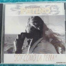 CDs de Música: RARO. SOY COMO LA TIERRA. GUSTAVO PATIÑO. CD. Lote 198907028