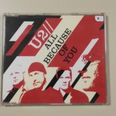 CD de Música: 0420 - U2 ALL BECAUSE OF YOU CD DISCO NUEVO . Lote 198909690