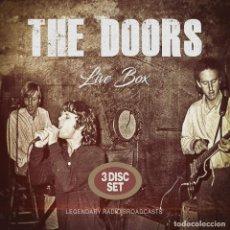 CDs de Música: THE DOORS LIVE BOX - 3 CDS. Lote 198914743