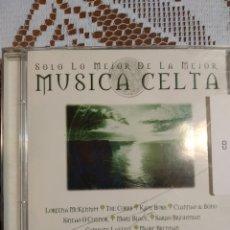 CDs de Música: MÚSICA CELTA. LO MEJOR DE LO MEJOR.. Lote 198916033