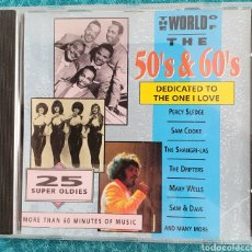 CDs de Música: THE WORLD OF THE 50 & 60'S. DEDICATED TO THE ONE I LOVE.. Lote 198916300