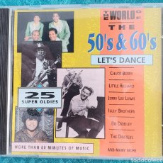 CDs de Música: THE WORLD OF THE 50 & 60'S. CD.LET'S DANCE. Lote 198916668