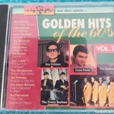 CDs de Música: GOLDEN HITS OF THE 60'S. VOL.2.CD. Lote 198917847