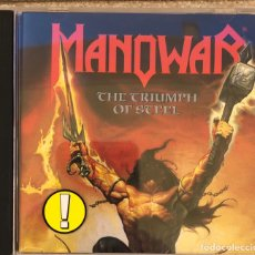 CDs de Musique: CD. MANOWAR. THE TRIUMPH OF STEEL. Lote 198969976