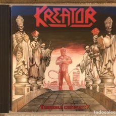 CDs de Musique: CD. KREATOR. TERRIBLE CERTAINTY. 1987. NOISE INTERNATIONAL.. Lote 198971185