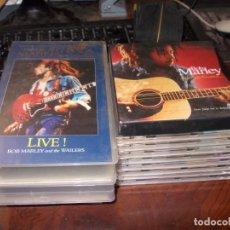 CDs de Música: LOTE REGGAE. 3 VHS, 8 CD, 1 CAJA 4 CD Y LIBRO (DEFECTO) LEER LA DESCRIPCIÓN Y VER FOTOS. Lote 198975935