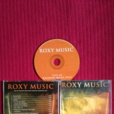 CDs de Música: ROXY MUSIC: LIVE AT RAINBOW MUSIC HALL. DENVER, COLORADO USA.. Lote 198990217
