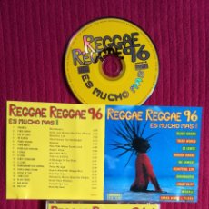 CDs de Música: REGGAE REGGAE 96: ES MUCHO MÁS. CD 1996.. Lote 199032188