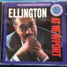 CD de Música: DUKE ELLINGTON AND HIS ORCHESTRA - ELLINGTON AT NEWPORT (CBS) CD, ALBUM (D:NM). Lote 199033831