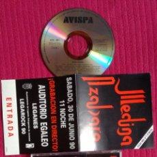 CDs de Música: MEDINA AZAHARA: DOBLE LP EN VIVO EN UN CD. 1990 AVISPA.. Lote 199037381
