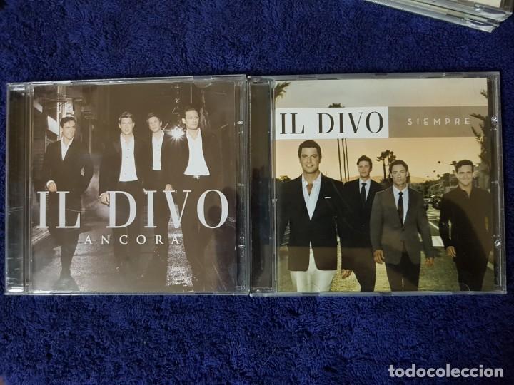 LOTE DE 2 DISCOS DE LOS MAGNÍFICOS IL DIVO. TÍTULOS (ANCORA) Y (SIEMPRE). ÓPERA POP (Música - CD's Melódica )
