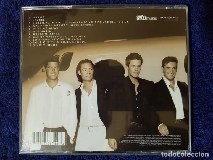 CDs de Música: Lote de 2 Discos de los magníficos Il Divo. Títulos (Ancora) y (Siempre). Ópera Pop - Foto 4 - 199081958