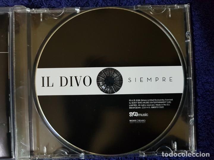 CDs de Música: Lote de 2 Discos de los magníficos Il Divo. Títulos (Ancora) y (Siempre). Ópera Pop - Foto 6 - 199081958