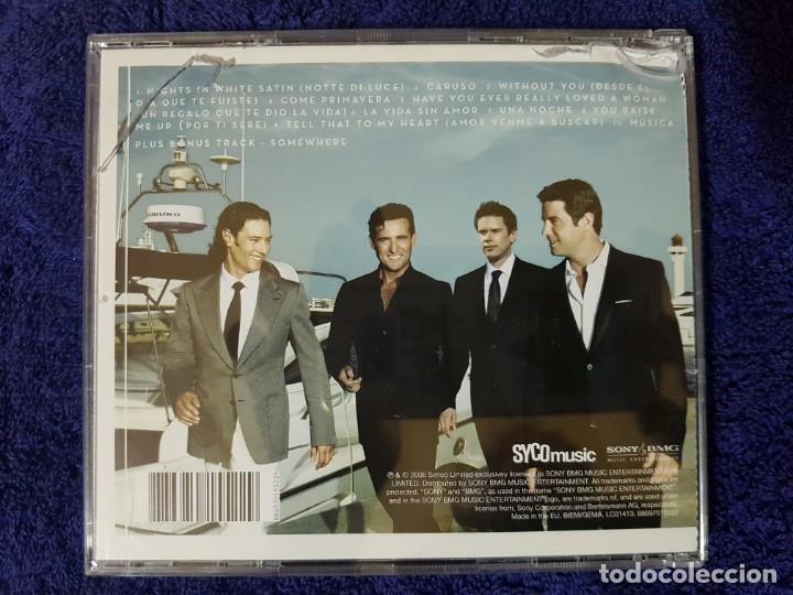 CDs de Música: Lote de 2 Discos de los magníficos Il Divo. Títulos (Ancora) y (Siempre). Ópera Pop - Foto 7 - 199081958
