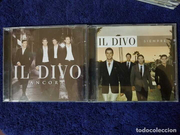CDs de Música: Lote de 2 Discos de los magníficos Il Divo. Títulos (Ancora) y (Siempre). Ópera Pop - Foto 8 - 199081958