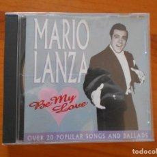 CD de Música: CD MARIO LANZA - BE MY LOVE (FÑ). Lote 199106588