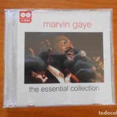 CDs de Música: CD MARVIN GAYE - THE ESSENTIAL COLLECTION (2 CD'S) (FQ). Lote 199114596