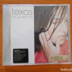 CDs de Música: CD TEXAS - THE GREATEST HITS - SPECIAL EDITION (Q9). Lote 199118140