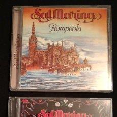 CDs de Música: LOTE 2 CD 1994 DEL GRUPO SALMARINA - TÍTULOS: ROMPEOLA Y BORDAO SAL MARINA. Lote 199168261