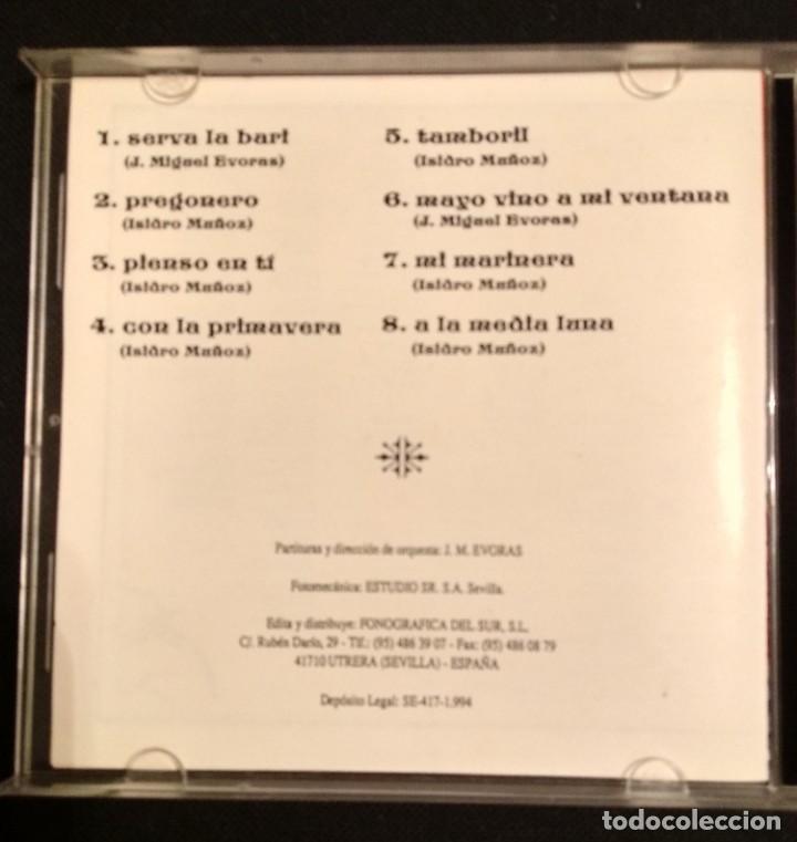 CDs de Música: Lote 2 CD 1994 del grupo SALMARINA - títulos: ROMPEOLA y BORDAO sal marina - Foto 4 - 199168261