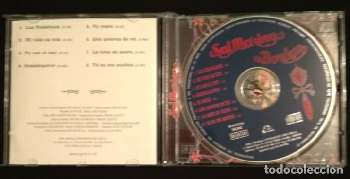 CDs de Música: Lote 2 CD 1994 del grupo SALMARINA - títulos: ROMPEOLA y BORDAO sal marina - Foto 9 - 199168261