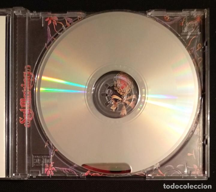 CDs de Música: Lote 2 CD 1994 del grupo SALMARINA - títulos: ROMPEOLA y BORDAO sal marina - Foto 10 - 199168261