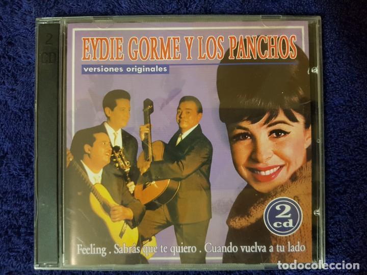 DISCO DOBLE DE LOS MÍTICOS Y ELEGANTES EYDIE GORME Y LOS PANCHOS. DOS CD (Música - CD's Melódica )