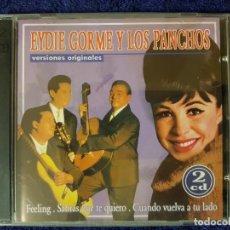 CDs de Música: DISCO DOBLE DE LOS MÍTICOS Y ELEGANTES EYDIE GORME Y LOS PANCHOS. DOS CD. Lote 199171785