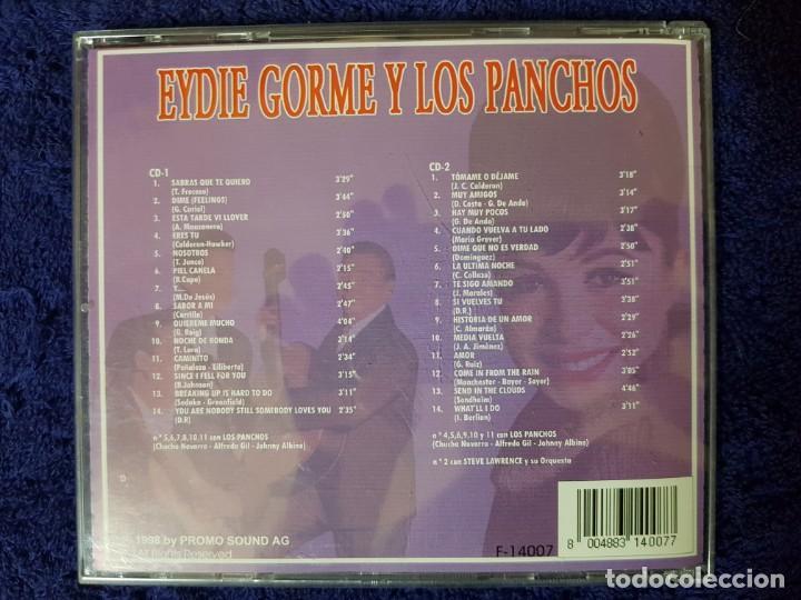 CDs de Música: Disco Doble de los míticos y elegantes Eydie Gorme y Los Panchos. Dos CD - Foto 2 - 199171785