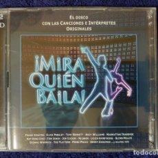 CDs de Música: EL DISCO DEL PROGRAMA DE TV MIRA QUIEN BAILA CON CANCIONES E INTÉRPRETES ORIGINALES. Lote 199175621