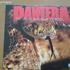 CDs de Música: PANTERA THE GREAT SOUTHERN TRENDKILL 2XCDS ESTUCHE BONUS. Lote 199214945