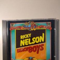 CDs de Música: RICKY NELSON Y BEACH BOYS. Lote 199218923