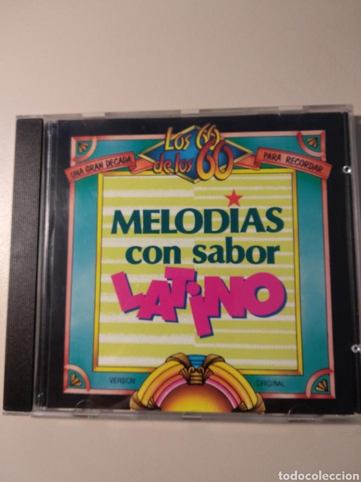 MELODÍAS CON SABOR LATINO (Música - CD's Latina)