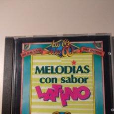 CDs de Musique: MELODÍAS CON SABOR LATINO. Lote 199224873