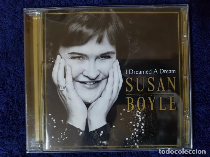 LA SORPRENDENTE SUSAN BOYLE CON SU EXITOSO ÁLBUM I DREAMED A DREAM. UNA VOZ PORTENTOSA (Música - CD's Melódica )