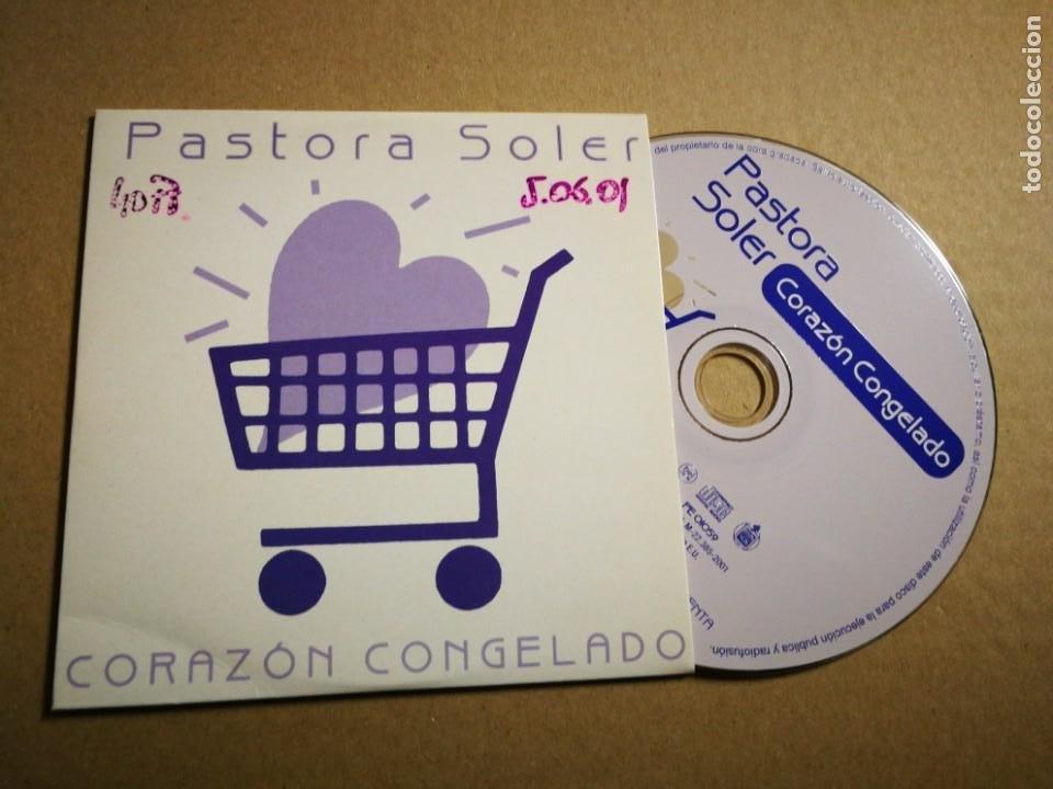 PASTORA SOLER CORAZON CONGELADO CD SINGLE PROMOCIONAL CARTON 2001 CARLOS JEAN 1 TEMA (Música - CD's Pop)