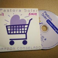 CDs de Música: PASTORA SOLER CORAZON CONGELADO CD SINGLE PROMOCIONAL CARTON 2001 CARLOS JEAN 1 TEMA. Lote 31935026