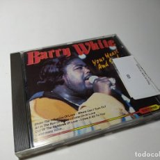 CDs de Música: CD - MUSICA - BARRY WHITE – YOUR HEART AND SOUL. Lote 199278850