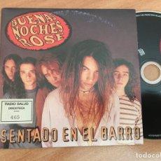 CDs de Música: BUENAS NOCHES ROSE (SENTADO EN EL BARRO) CD SINGLE ESPAÑA PROMO 3 TRACK (CDIB8). Lote 199278861