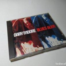 CDs de Música: CD - MUSICA - GARY MOORE – BLUES ALIVE. Lote 199279681