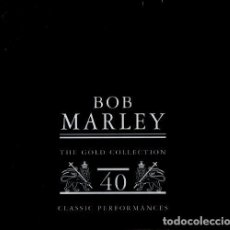 CDs de Música: BOB MARLEY. THE GOLD COLLECTION. CLASSIC PERFORMANCES. SET PACK. DOBLE CD.. Lote 199280817