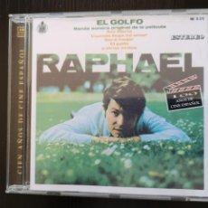 CDs de Música: RAPHAEL (1CD) BANDA SONORA ORIGINAL EL GOLFO - RARO DE ENCONTRAR. Lote 199281352